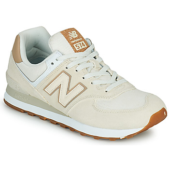 Shoes Women Low top trainers New Balance 574 Beige