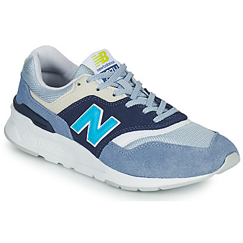 Shoes Women Low top trainers New Balance 997 White / Blue
