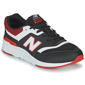 Shoes Boy Low top trainers New Balance 997 Black / Red
