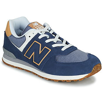 Shoes Boy Low top trainers New Balance 574 Blue