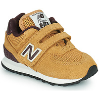 Shoes Boy Low top trainers New Balance 574 Brown