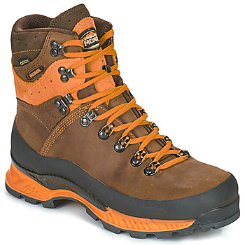 Shoes Men Hiking shoes Meindl ISLAND MFS ROCK Brown / Orange