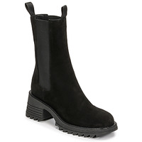 Shoes Women Ankle boots Mimmu CAMOSCIO Black