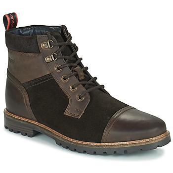 Shoes Men Mid boots Base London ROGAN Brown