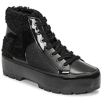 Shoes Women Mid boots Melissa MELISSA FLUFFY SNEAKER AD Black