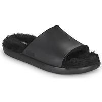 Shoes Women Sliders Melissa MELISSA FLUFFY SIDE AD Black