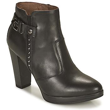 Shoes Women Ankle boots NeroGiardini ASPERGO Black