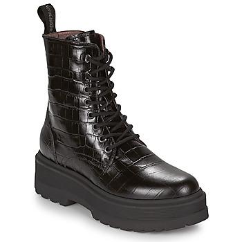 Shoes Women Mid boots NeroGiardini CATALONIO Black