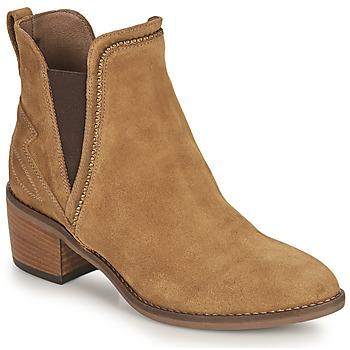 Shoes Women Ankle boots NeroGiardini FLAGEOLETO Cognac