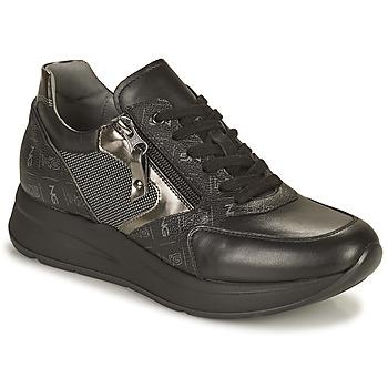 Shoes Women Low top trainers NeroGiardini GIROMONO Black
