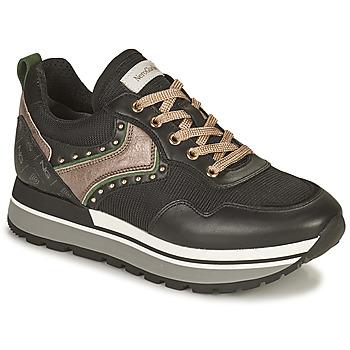Shoes Women Low top trainers NeroGiardini LAITUO Black