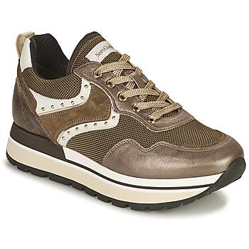 Shoes Women Low top trainers NeroGiardini LENTILLO Brown