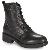 Shoes Women Mid boots NeroGiardini MANIOCO Black