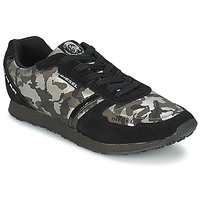 Shoes Women Low top trainers Diesel CAMOUFLAGE Black