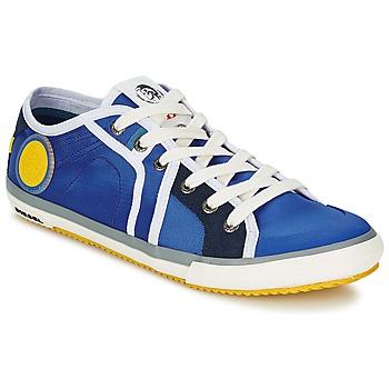 Shoes Men Low top trainers Diesel Basket Diesel Blue