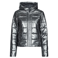 material Women Duffel coats Ikks BETHANY Silver