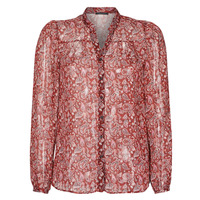 material Women Shirts Ikks POULIO Red