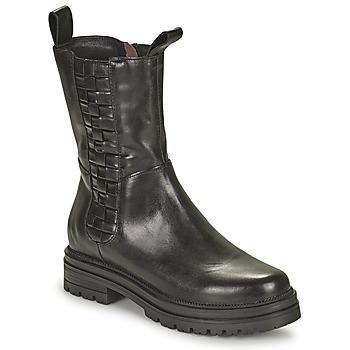 Shoes Women Mid boots Mjus DOBLE SQUARE Black