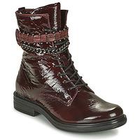 Shoes Women Mid boots Mjus CAFE PATENT Bordeaux