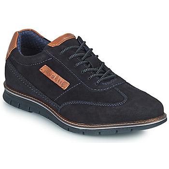 Shoes Men Derby shoes Bugatti SIMONE COMFORT Marine