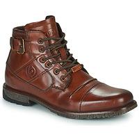 Shoes Men Mid boots Bugatti SATURINO Brown