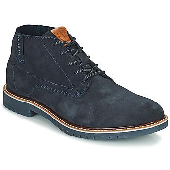 Shoes Men Mid boots Bugatti PLUTONO Marine