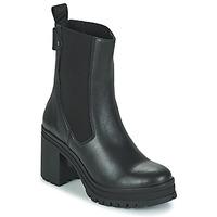 Shoes Women Ankle boots Palladium Manufacture MONA 02 NAP Black