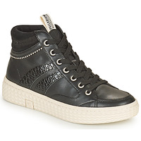 Shoes Women High top trainers Palladium Manufacture TEMPO 03 SYN Black