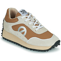 Shoes Women Low top trainers No Name PUNKY JOGGER White / Brown