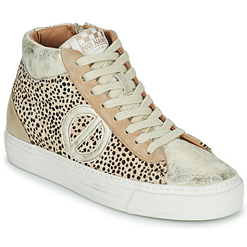 Shoes Women High top trainers No Name STRIKE MID CUT Beige