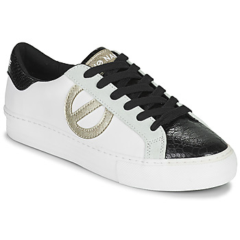 Shoes Women Low top trainers No Name ARCADE SIDE White / Black