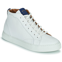 Shoes Men High top trainers Schmoove SPARK MID White