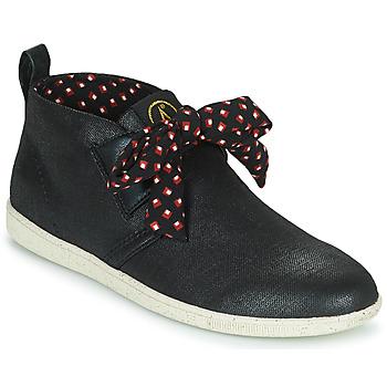 Shoes Women High top trainers Armistice STONE MID CUT W Black