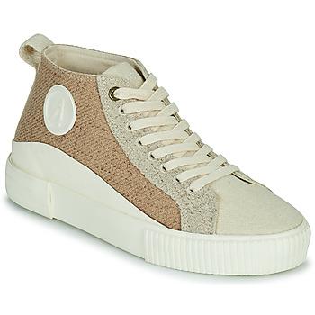 Shoes Women High top trainers Armistice FOXY MID LACE W Beige