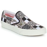 Shoes Slip ons Vans SLIP ON Black / White / Pink
