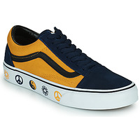 Shoes Low top trainers Vans OLD SKOOL Blue / Yellow