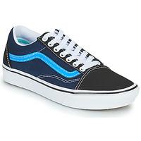 Shoes Low top trainers Vans COMFYCUSH OLD SKOOL Black / Blue