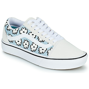 Shoes Women Low top trainers Vans OLD SKOOL White / Blue