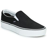 Shoes Women Slip ons Vans CLASSIC SLIP-ON PLATFORM Black / White