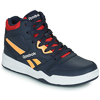 Shoes Children High top trainers Reebok Classic BB4500 COURT Marine / Yellow / Red