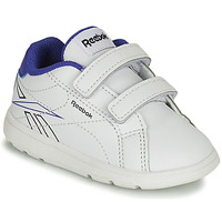 Shoes Boy Low top trainers Reebok Classic RBK ROYAL COMPLETE White / Blue