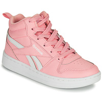 Shoes Girl High top trainers Reebok Classic REEBOK ROYAL PRIME Pink