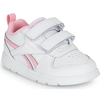 Shoes Girl Low top trainers Reebok Classic REEBOK ROYAL PRIME White / Pink