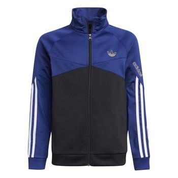 material Children Jackets adidas Originals SENTIRA Black / Marine