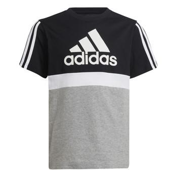 material Boy short-sleeved t-shirts adidas Performance MOULITA Grey / Black