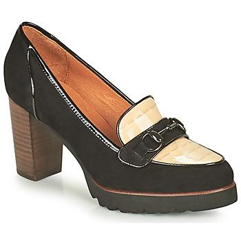 Shoes Women Court shoes Mam'Zelle URBANO Black / White