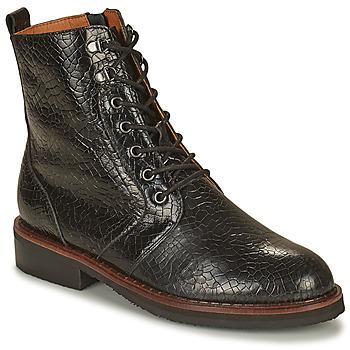 Shoes Women Mid boots Mam'Zelle JILA Black