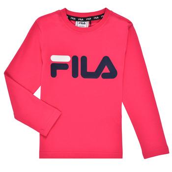 material Girl Long sleeved shirts Fila ESPIN Pink