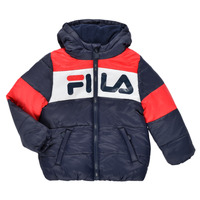 material Children Duffel coats Fila DERIENA Red / Marine