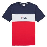 material Girl short-sleeved t-shirts Fila TEKANI Red / Marine